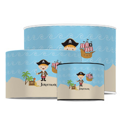 Pirate Scene Drum Lamp Shade (Personalized)