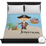 Pirate Scene Duvet Cover (Personalized)