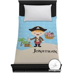 Pirate Scene Duvet Cover - Toddler (Personalized)