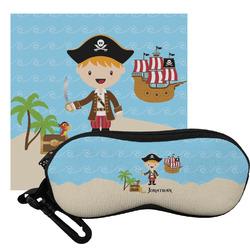 Pirate Scene Eyeglass Case & Cloth (Personalized)