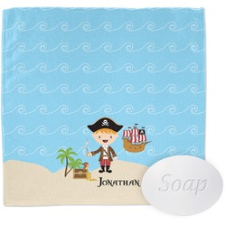 Pirate Scene Wash Cloth (Personalized)