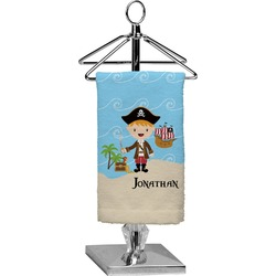 Pirate Scene Finger Tip Towel - Full Print (Personalized)