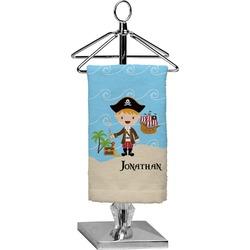 Pirate Scene Finger Tip Towel - Full Print (Personalized)