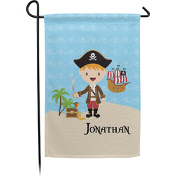 Pirate Scene Garden Flag - Single or Double Sided (Personalized)