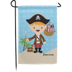 Pirate Scene Garden Flag (Personalized)