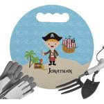 Pirate Scene Gardening Knee Cushion (Personalized)