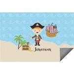 Pirate Scene Indoor / Outdoor Rug (Personalized)
