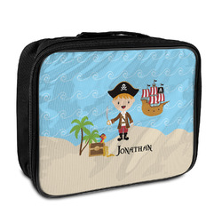 Pirate Scene Insulated Lunch Bag (Personalized)