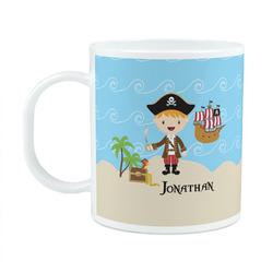 Pirate Scene Plastic Kids Mug (Personalized)