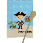 Pirate Scene Kitchen Towel - Full Print (Personalized)