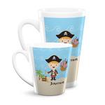 Pirate Scene Latte Mug (Personalized)