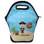 Pirate Scene Lunch Bag w/ Name or Text