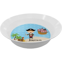 Pirate Scene Melamine Bowl (Personalized)