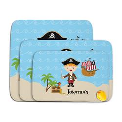 Pirate Scene Memory Foam Bath Mat (Personalized)