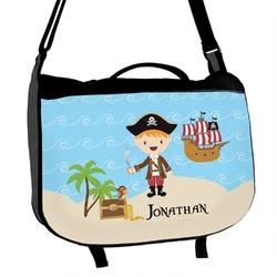 Pirate Scene Messenger Bag (Personalized)