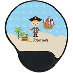 Pirate Scene Mouse Pad with Wrist Support