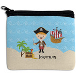 Pirate Scene Rectangular Coin Purse (Personalized)