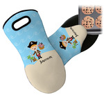 Pirate Scene Neoprene Oven Mitt (Personalized)