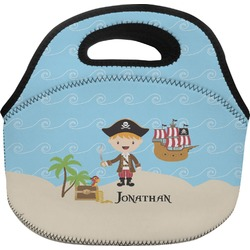 Pirate Scene Lunch Bag (Personalized)