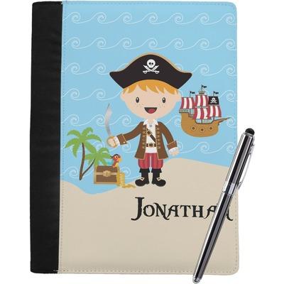 Pirate Scene Notebook Padfolio (Personalized)