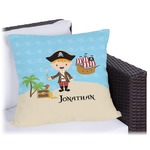 Pirate Scene Outdoor Pillow (Personalized)