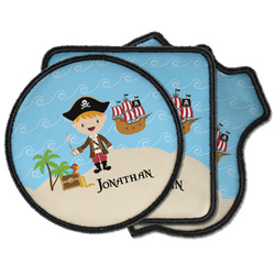 Pirate Scene Iron on Patches (Personalized)