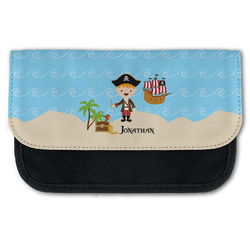 Pirate Scene Canvas Pencil Case w/ Name or Text