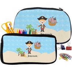 Pirate Scene Pencil / School Supplies Bag (Personalized)