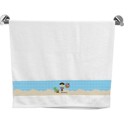 Pirate Scene Bath Towel (Personalized)