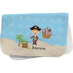 Pirate Scene Burp Cloth (Personalized)