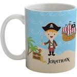 Pirate Scene Coffee Mug (Personalized)