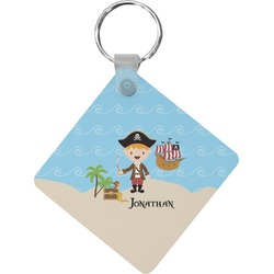 Pirate Scene Diamond Key Chain (Personalized)