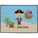 Pirate Scene Door Mat (Personalized)