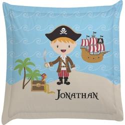 Pirate Scene Euro Sham Pillow Case (Personalized)