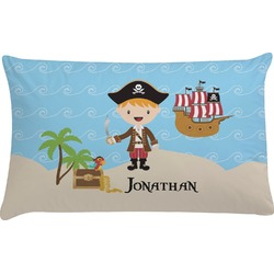 Pirate Scene Pillow Case (Personalized)