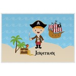 Pirate Scene Laminated Placemat w/ Name or Text