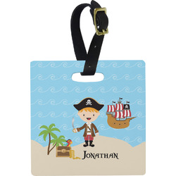 Pirate Scene Luggage Tags (Personalized)