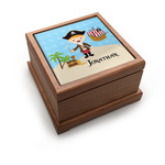 Pirate Scene Pet Urn w/ Name or Text