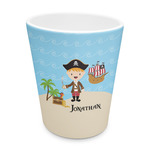 Pirate Scene Plastic Tumbler 6oz (Personalized)