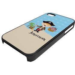 Pirate Scene Plastic 4/4S iPhone Case (Personalized)