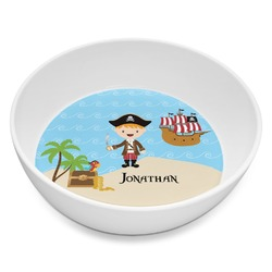 Pirate Scene Melamine Bowl 8oz (Personalized)