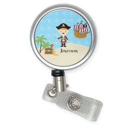 Pirate Scene Retractable Badge Reel (Personalized)