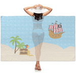 Pirate Scene Sheer Sarong (Personalized)