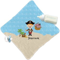 Pirate Scene Security Blanket (Personalized)