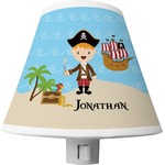 Pirate Scene Shade Night Light (Personalized)