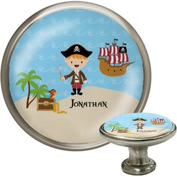Pirate Scene Cabinet Knobs (Personalized)