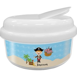 Pirate Scene Snack Container (Personalized)