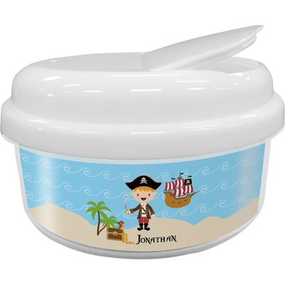 Pirate Scene Snack Container (Personalized)