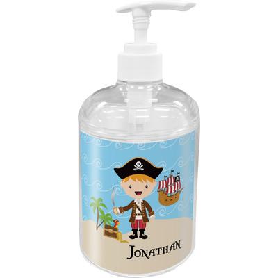 Pirate Scene Soap / Lotion Dispenser (Personalized)