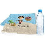 Pirate Scene Sports & Fitness Towel (Personalized)